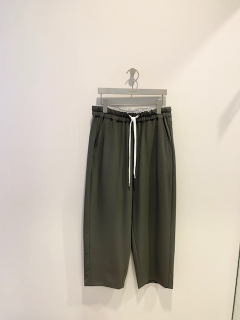 2020秋冬新商品 Blanc vert リラックス・パンツ