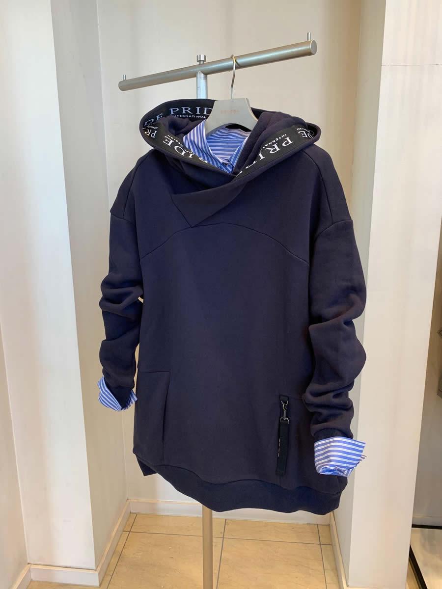 2019春夏新商品 PRIDE 裏起毛・デザインプルオーバ 、ストライプ・シャツ