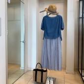 2020春夏新商品 belles closet ブラウス,poushal スカート