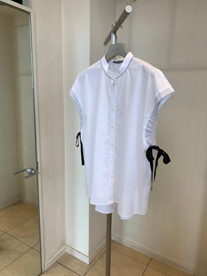 2019春夏新商品 blanc Vert 袖リボン・デザインブラウス