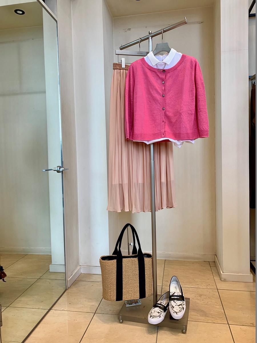 Spice pink coordination