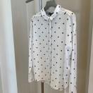 2019春夏新商品  blanch vertドットシャツ