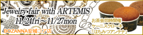BOZANNA安城~Jewerly Fair with ARTEMIS